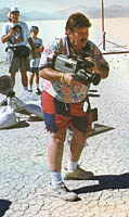 Ky Michaelson filming